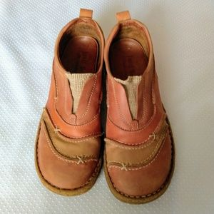 Josef Seibel Leather Slip On Comfort Shoes Size 38